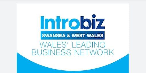 Introbiz Swansea & West Wales Networking Breakfast Launch Village Hotel Swa