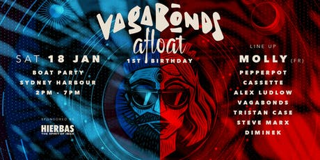 Vagabonds Afloat - Harbour Cruise ft Molly (FR) tickets