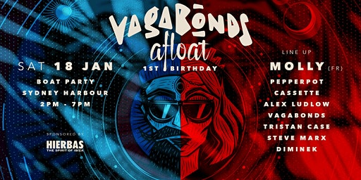 Vagabonds Afloat - Harbour Cruise ft Molly (FR)
