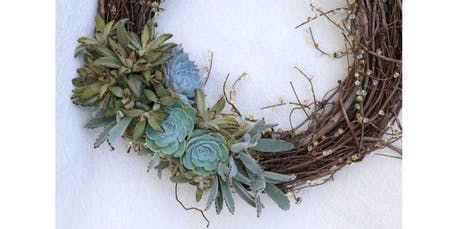 [PRIVATE EVENT] Holiday Succulent Wreath Making Party with Pollinate Farm & Garden + Outdoor Afro (12-08-2019 starts at 11:00 AM) tickets
