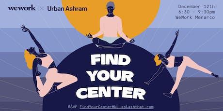 WeWork—Find Your Center tickets