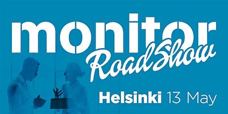 Monitor Roadshow Finland – Helsinki 13/5 tickets