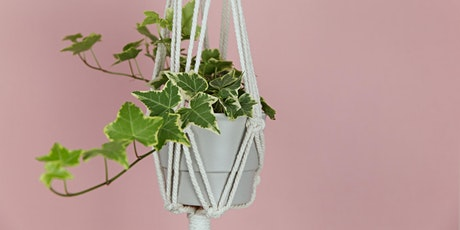 Macrame Plant Hanger Workshop tickets