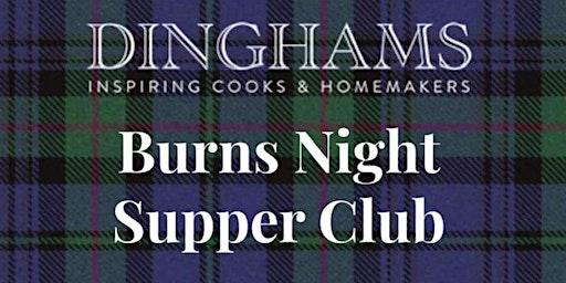 Burns Night Supper Club