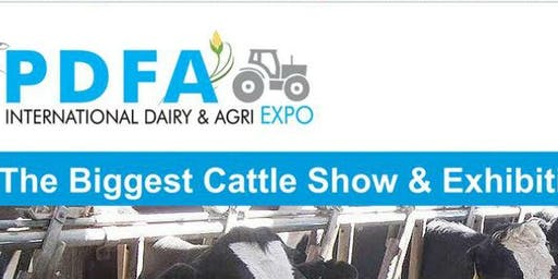PDFA International Dairy and Agri Expo 2019
