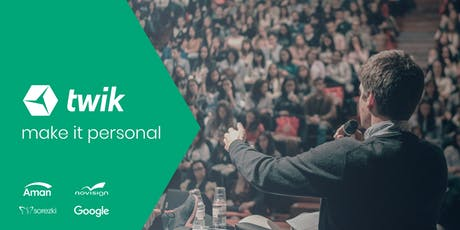 twik annual event day - Investors, Marketers, Partners and JS developers tickets