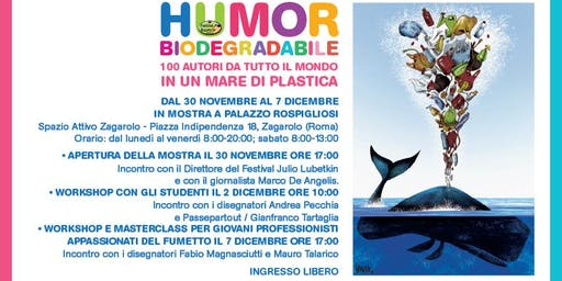 LA DIFFERENZA LA FAI TE - Humour Biodegradabile …oltre la differenziata. Festival Internazionale Humor Grafico  - Zagarolo