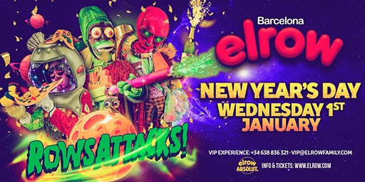 elrow Barcelona NYD - Rowsattacks