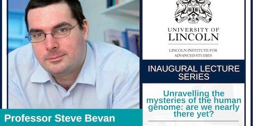 Inaugural Lecture:Prof Stephen Bevan