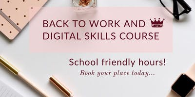 Back to Work and Digital Skills (Maidstone)