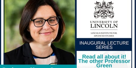 Inaugural Lecture:Prof Sharon Green tickets