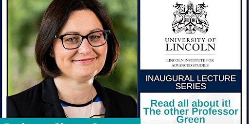 Inaugural Lecture:Prof Sharon Green