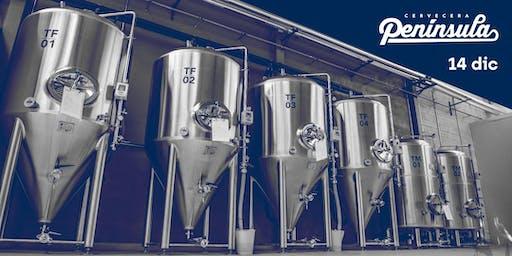 Visita Guiada a la Fábrica de Cervecera Península - Diciembre