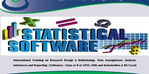 Training in Research Design Data management Analysis Inferences & Reporting