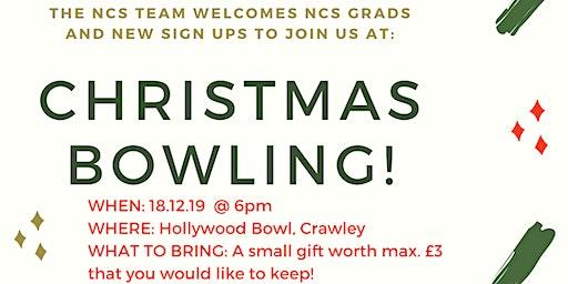 NCS Crawley Christmas Bowling and Santa Snatch Bingo