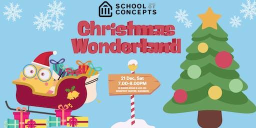 SoC Christmas Wonderland at Singpost