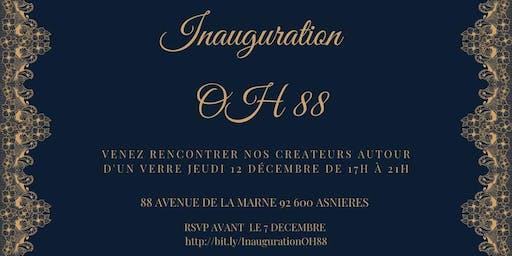 Inauguration de la Boutique OH 88