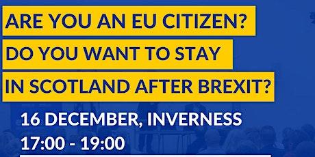 EU Settlement Scheme Information Session in Inverness tickets