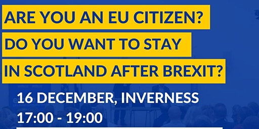 EU Settlement Scheme Information Session in Inverness
