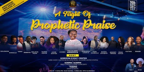 A Night of Prophetic Praise tickets