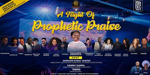 A Night of Prophetic Praise