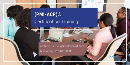 PMI-ACP Classroom Training in Dalhousie, NB