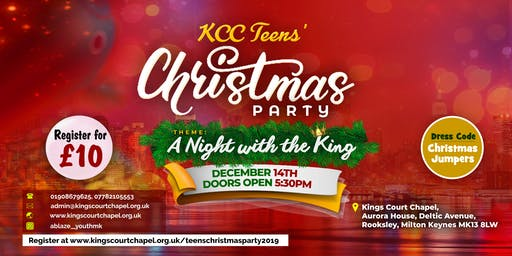 KCC Teenagers Christmas Party 2019