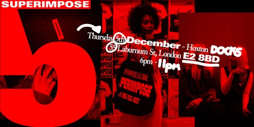 SUPERIMPOSE 5th Anniversary Party