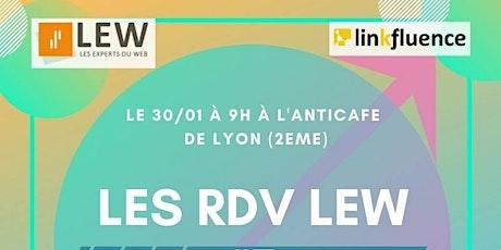 #RDVLEW n°7 Utiliser la social data pour une stratégie d'influence efficace billets