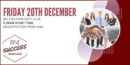 BNI Success Grantham - Network meeting 20th December