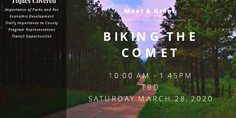 Biking the Comet tickets