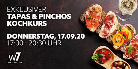 Exklusiver Tapas & Pinchos-Kochkurs Tickets