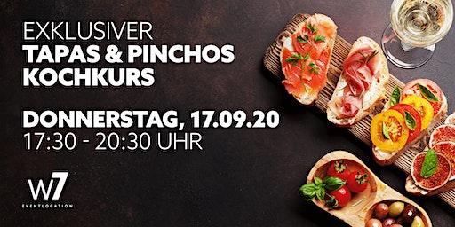 Exklusiver Tapas & Pinchos-Kochkurs