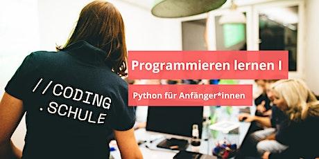 Programmieren lernen I  / Python für Anfänger*innen / Dortmund Tickets