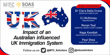 Impact of an Australian influenced UK immigration system tickets
