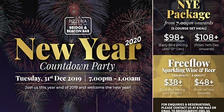 New Year Countdown Party at RSYC tickets