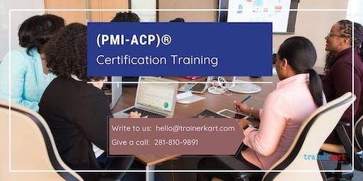 PMI-ACP Classroom Training in Miramichi, NB