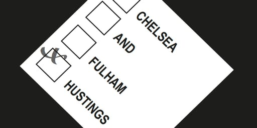 Hustings for Chelsea and Fulham Constituency - Election 2019