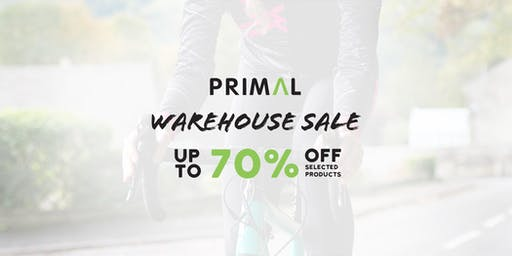 PRIMAL BLACK FRIDAY WAREHOUSE SALE