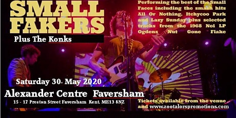 The Small Fakers at The Alexander Centre Faversham tickets