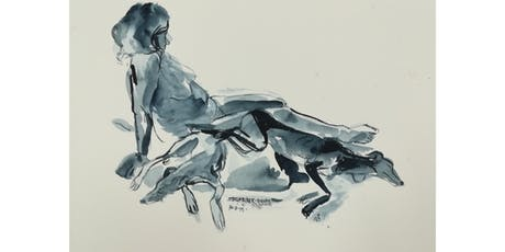 Stokenchurch Life Drawing (Special Weekend event: Model with Pet Whippet) tickets