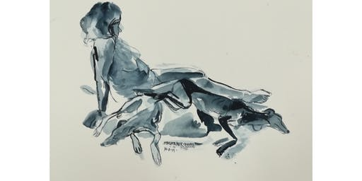 Stokenchurch Life Drawing (Special Weekend event: Model with Pet Whippet)