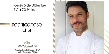 Cena: Alta gastronomía de la mano del Chef Rodrigo Toso entradas