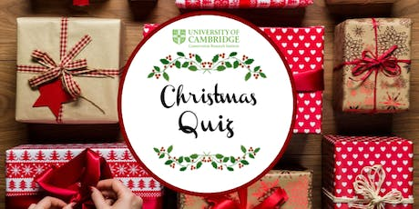 Conservation Research Institute Christmas Quiz tickets