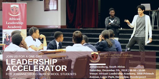 Leadership Accelerator for Exceptional High School Seniors - Johannesburg, South Africa