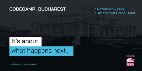 Codecamp Bucharest, 7 November 2020 tickets