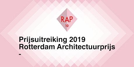 Rotterdam Architectuurprijs 2019 tickets