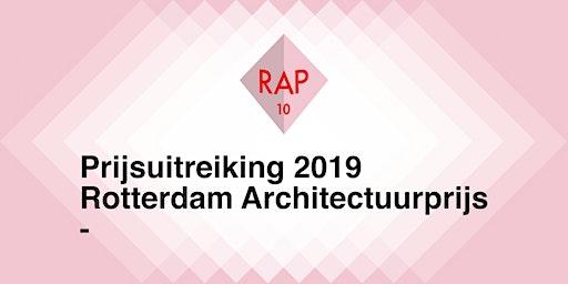 Rotterdam Architectuurprijs 2019
