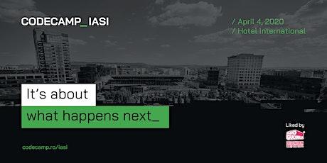 Codecamp Iasi, 4 April 2020 tickets