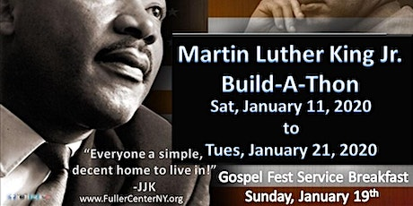 Martin Luther King Jr. Build-A-Thon tickets